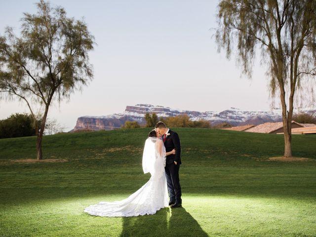 Daniel and Holli's Wedding in Gold Canyon, Arizona 19