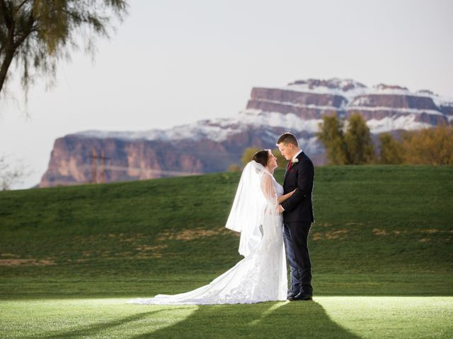 Daniel and Holli's Wedding in Gold Canyon, Arizona 20
