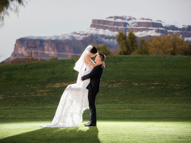 Daniel and Holli's Wedding in Gold Canyon, Arizona 21
