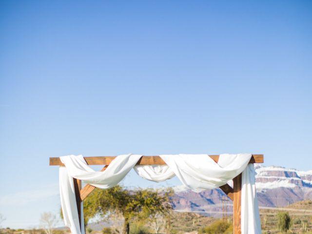 Daniel and Holli's Wedding in Gold Canyon, Arizona 75