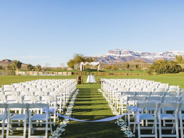 Daniel and Holli's Wedding in Gold Canyon, Arizona 85