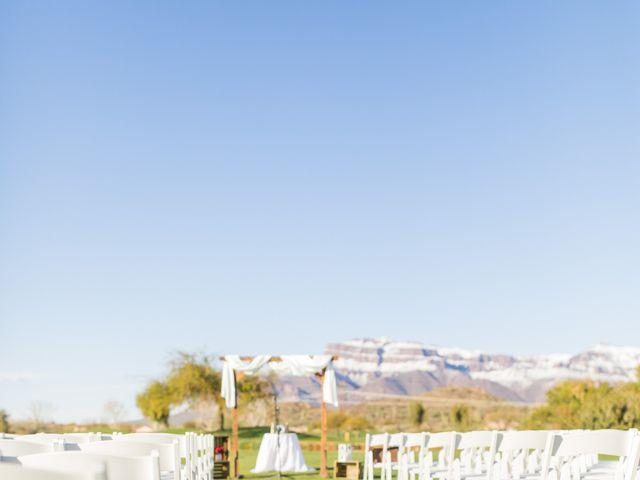 Daniel and Holli's Wedding in Gold Canyon, Arizona 86