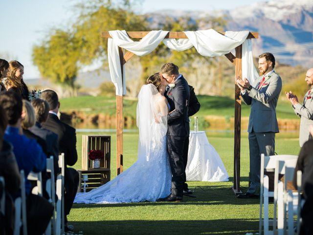 Daniel and Holli's Wedding in Gold Canyon, Arizona 124
