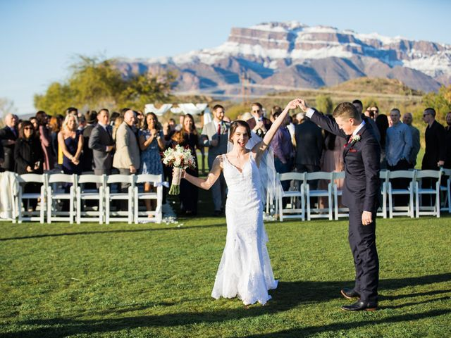 Daniel and Holli's Wedding in Gold Canyon, Arizona 126