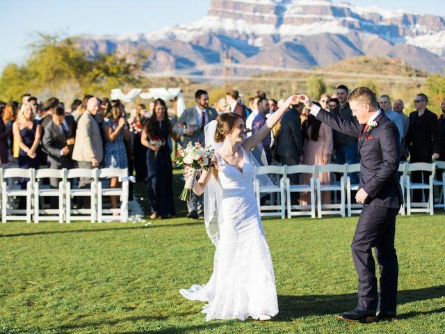 Daniel and Holli's Wedding in Gold Canyon, Arizona 127