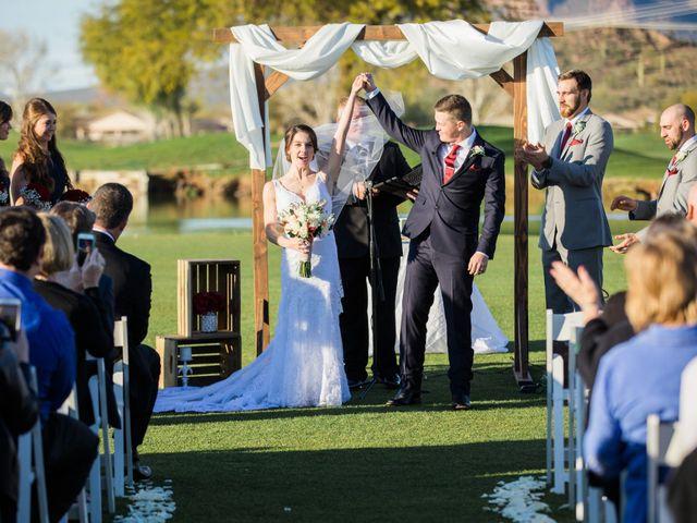 Daniel and Holli's Wedding in Gold Canyon, Arizona 128