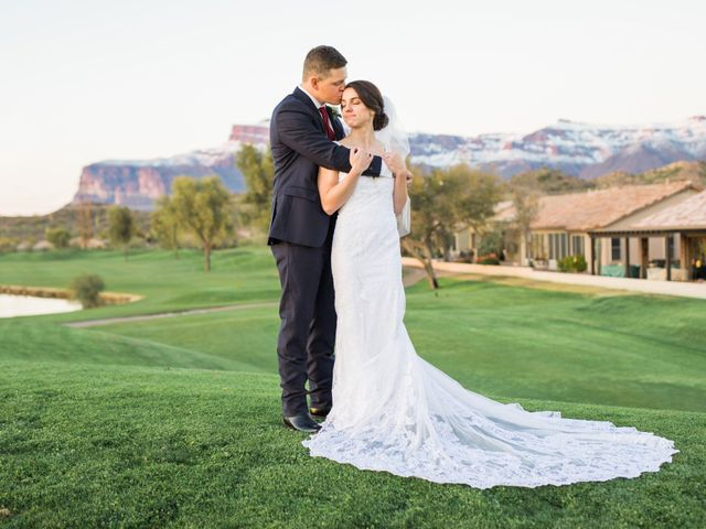 Daniel and Holli's Wedding in Gold Canyon, Arizona 133