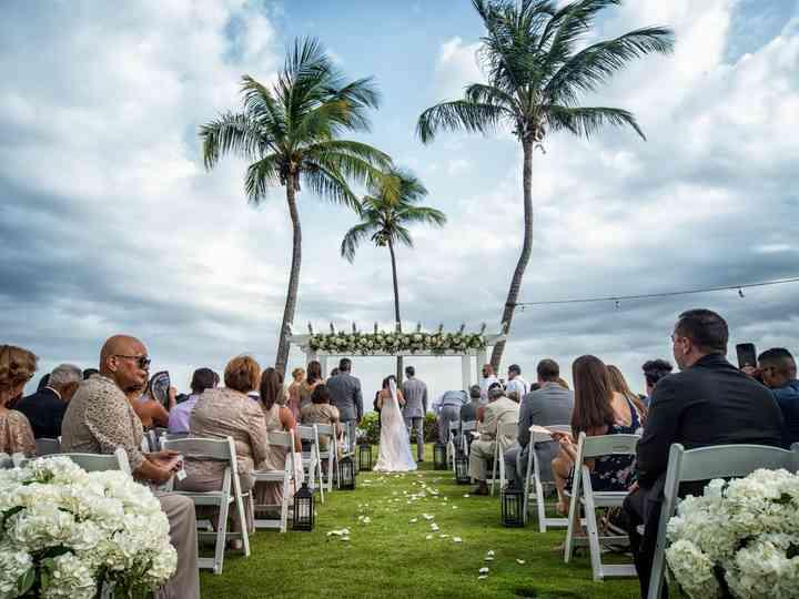 The wedding of Melanie and Joeseph