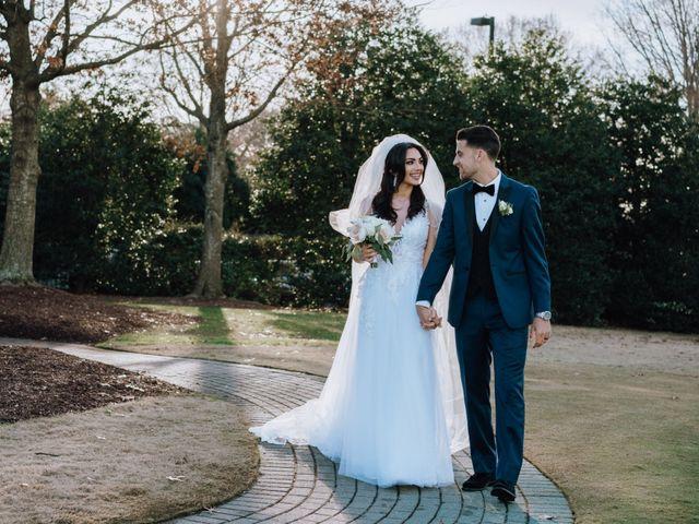 The wedding of Yasmeen and Nazmi