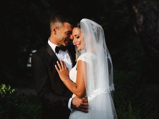 The wedding of Alberto and Miriam