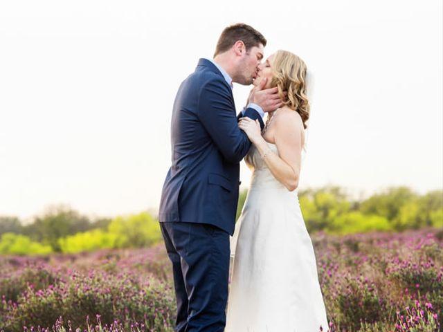 The wedding of Matt and Meredith
