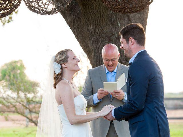 Meredith and Matt's Wedding in Stonewall, Texas 15