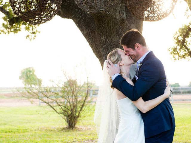 Meredith and Matt's Wedding in Stonewall, Texas 16