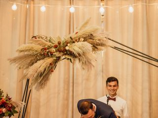 The wedding of Ashley and Derek 1