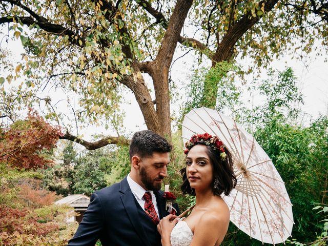 The wedding of Adam and Josie