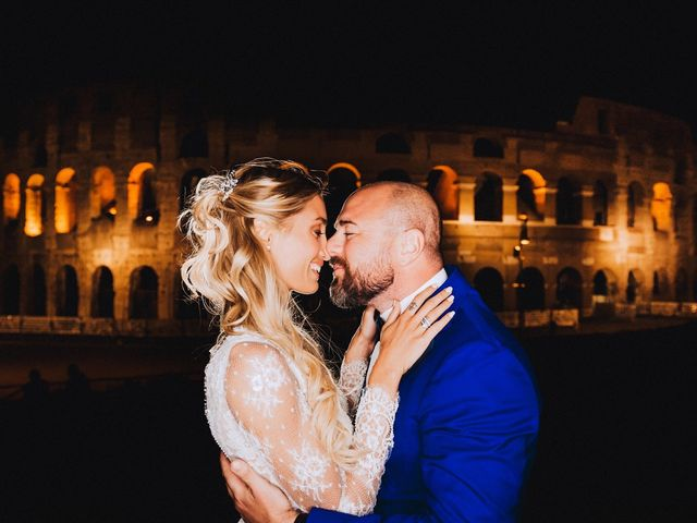 Daniele and Sara's Wedding in Rome, Italy 14
