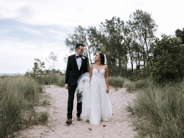 The wedding of Aj Stoner and Tina