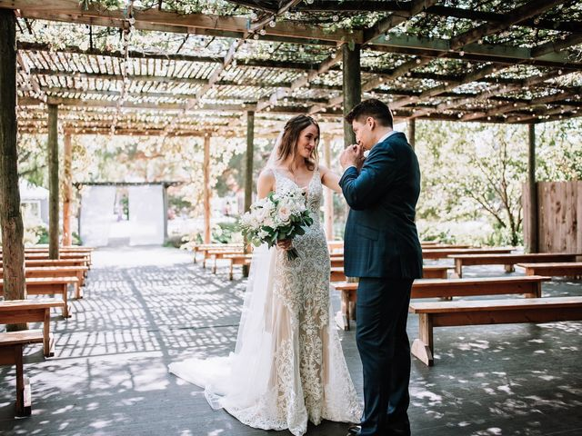 The wedding of Melissa and Zigmars