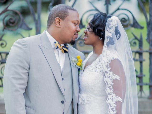The wedding of Alioune and Anetra