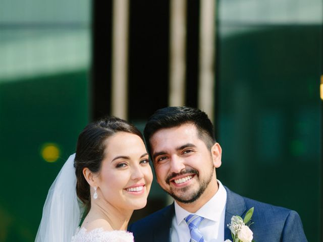 The wedding of Eduardo and Colleen