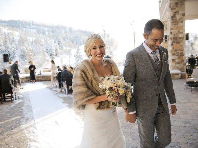 Ashley and Ray's Wedding in Park City, Utah 17