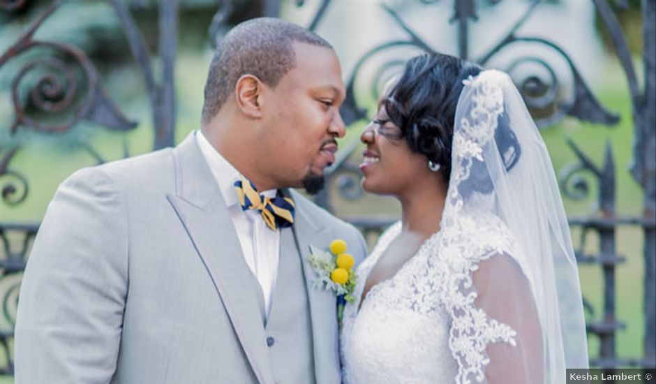 Anetra and Alioune's Wedding in New Rochelle, New York