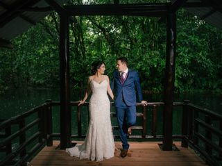 The wedding of Rodrigo and Priscilla