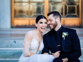 The wedding of Jimmy and Galatiani