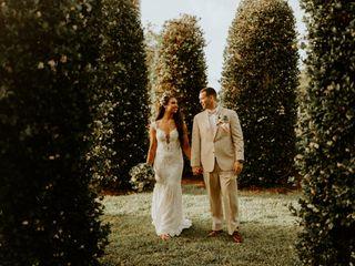 The wedding of Rachel and James