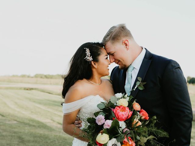 The wedding of Leslie and Barrett