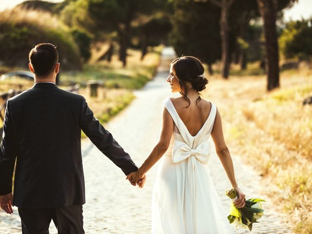 Fabio and Marta's Wedding in Rome, Italy 24