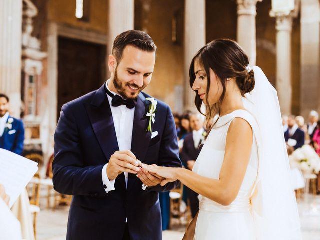 Fabio and Marta's Wedding in Rome, Italy 42