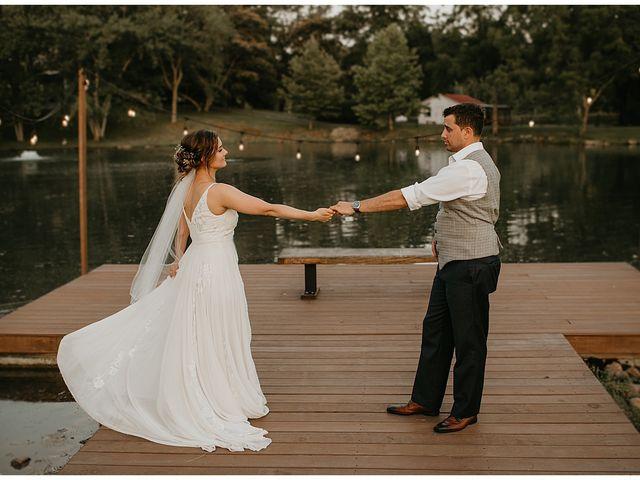 The wedding of Lorenzo and Megan