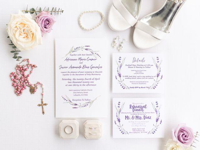 Javi and Adrienne's Wedding in Lafayette, Indiana 1