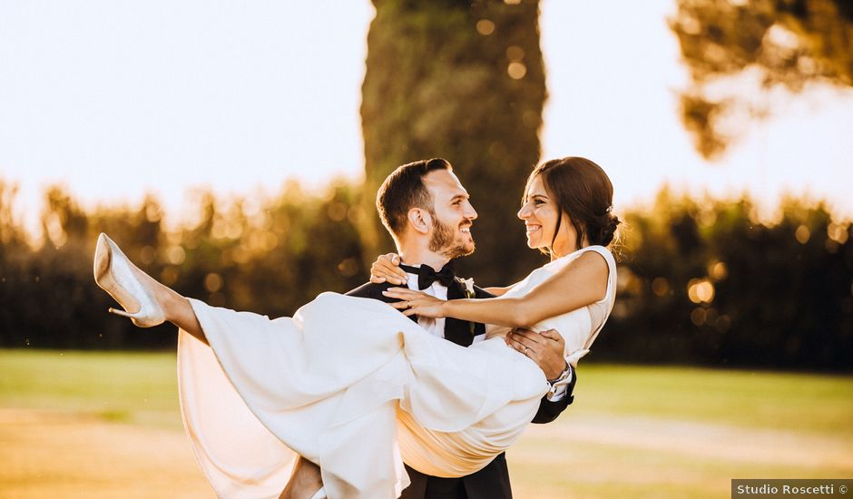 Fabio and Marta's Wedding in Rome, Italy
