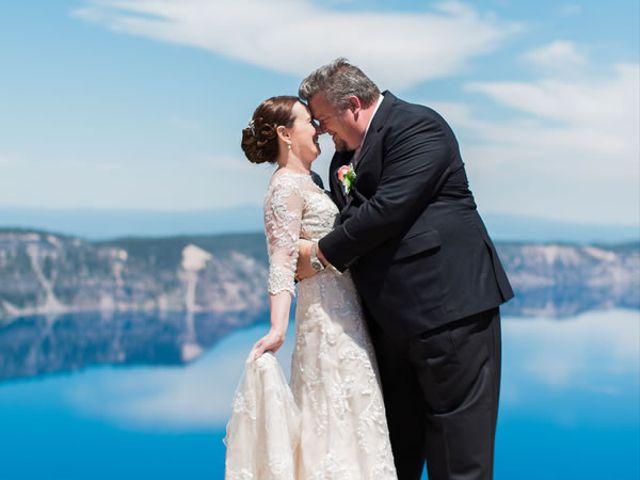 The wedding of Alan and Jacy