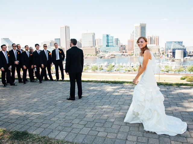 Samantha and Michael's Wedding in Baltimore, Maryland 8