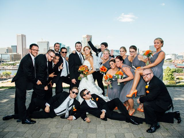 Samantha and Michael's Wedding in Baltimore, Maryland 10