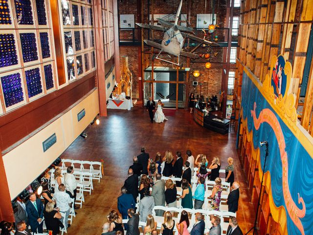 Samantha and Michael's Wedding in Baltimore, Maryland 12