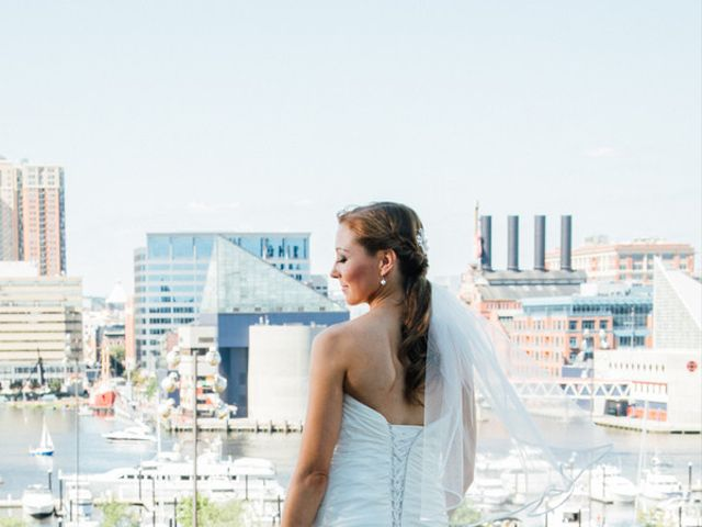 Samantha and Michael's Wedding in Baltimore, Maryland 4