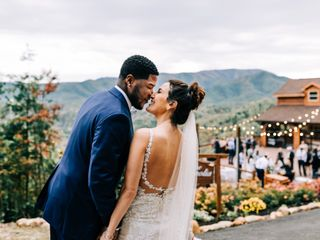 The wedding of Laura and Aubrey