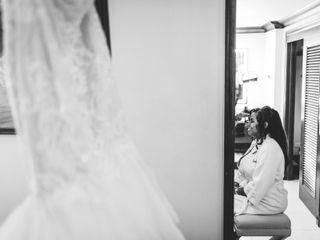 The wedding of Amera and Graig 1