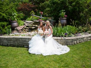 The wedding of Brittany and Devan