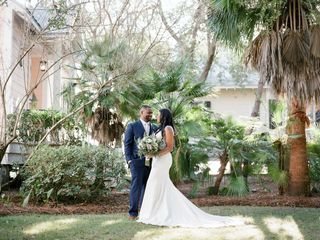 The wedding of Alexis and Ryan