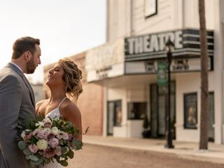 The wedding of Taylor and David