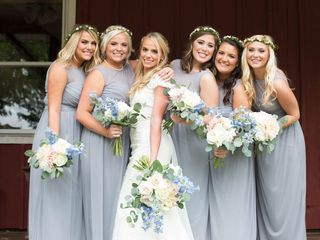 Kaitlyn and Bubbie's Wedding in Winfield, Kansas 3