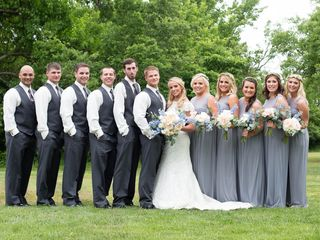 Kaitlyn and Bubbie's Wedding in Winfield, Kansas 8