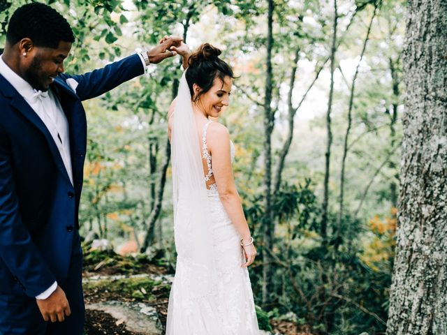 Aubrey and Laura's Wedding in Pigeon Forge, Tennessee 15