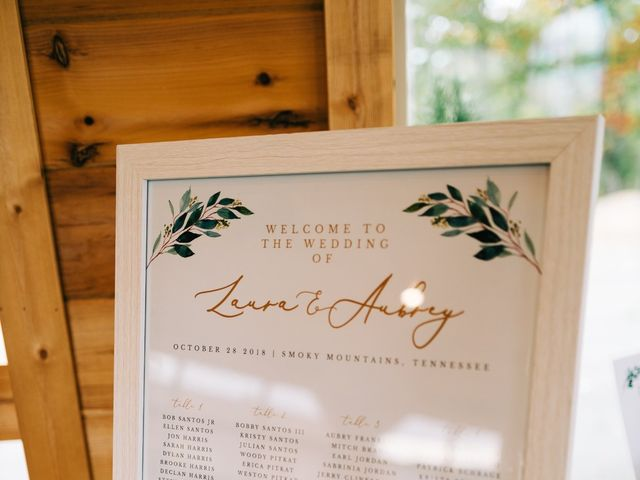 Aubrey and Laura's Wedding in Pigeon Forge, Tennessee 25