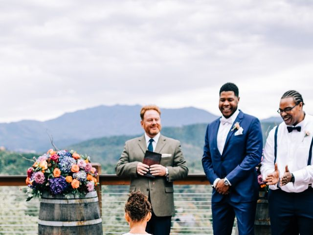 Aubrey and Laura's Wedding in Pigeon Forge, Tennessee 32